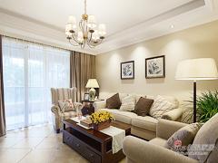 【高清】128平品质美式雅致3居室