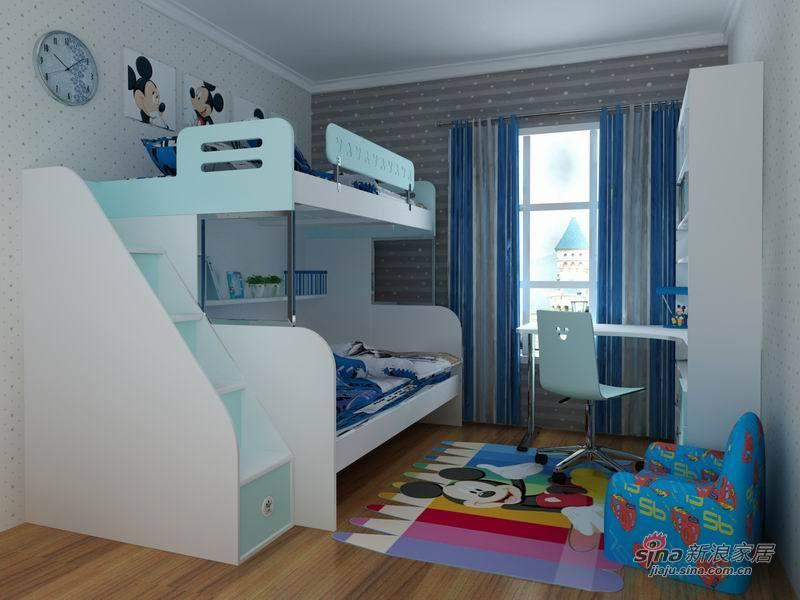 高低床儿童图片