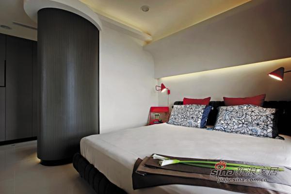 开放式洋气卧室