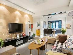 【多图】自然舒适80平北欧简约两居室