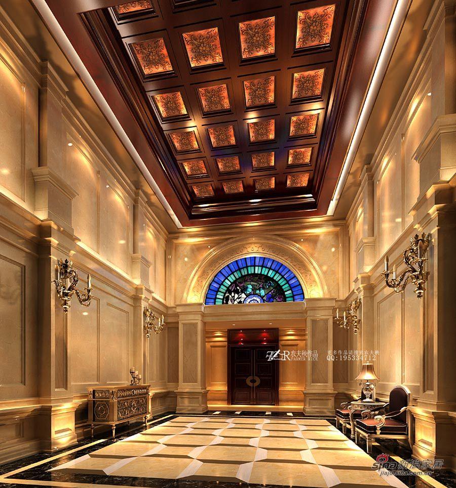 美式豪华别墅图片 样板间