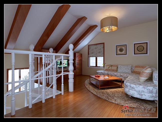 二层小休闲区效果图高清图片