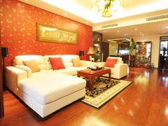【高清】新中式风格200平米四居设计