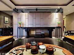 【多图】235平京基御景东方新中式豪宅设计