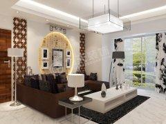 渤海明珠一期-3室2厅2卫1厨-中式风格