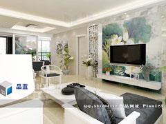 《荷花盏》--现代中式三房两厅133平米