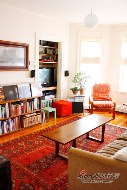 书香气息的客厅