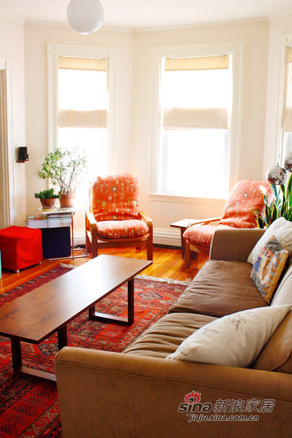 客厅 暖暖的