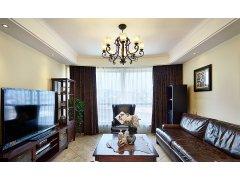 【高清】140平美式新古典雅致3居室