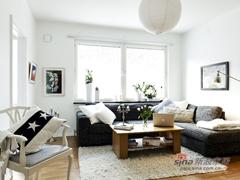 39平高雅简约北欧风情单身公寓