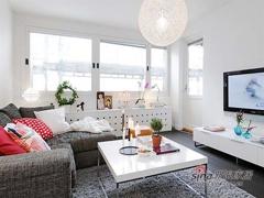 白领夫妻85平北欧风格两居室