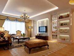 150平欧式客厅装修美图