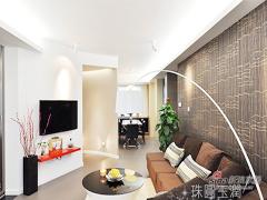 【高清】12万打造90平现代简约婚房