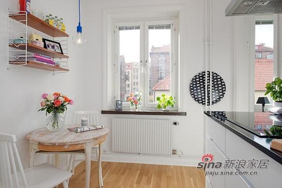厨房旁的小餐桌