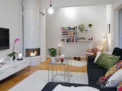 56平北欧风小公寓 让春天在家中绽放