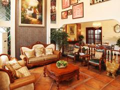 【高清】四口之家330平别墅美式休闲风格
