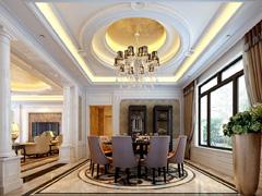 【高清】400平自建别墅 新古典设计风格