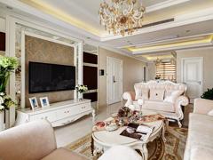 【高清】140平公寓演绎典雅俏皮的经典欧式
