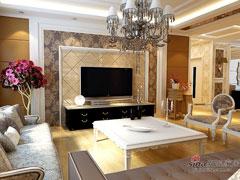 101平/常青花园二分之一/三居室舒适,打造色彩品质生活