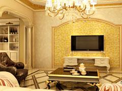 私人定制240平孔雀城奢华欧式大气别墅家