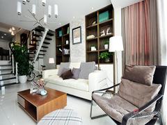 【高清】140平时尚温馨现代3居室