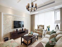 【高清】123平美式休闲舒适3居室
