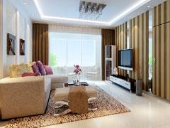 中铁国际城两居室现代风格设计