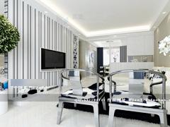【高清】13.9万打造中式神韵127平米样板房