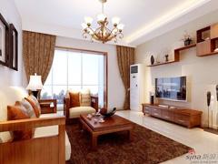 武汉青年打造城投瀚城三居室简约风格