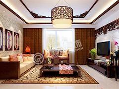 147平新中式三室二厅美家