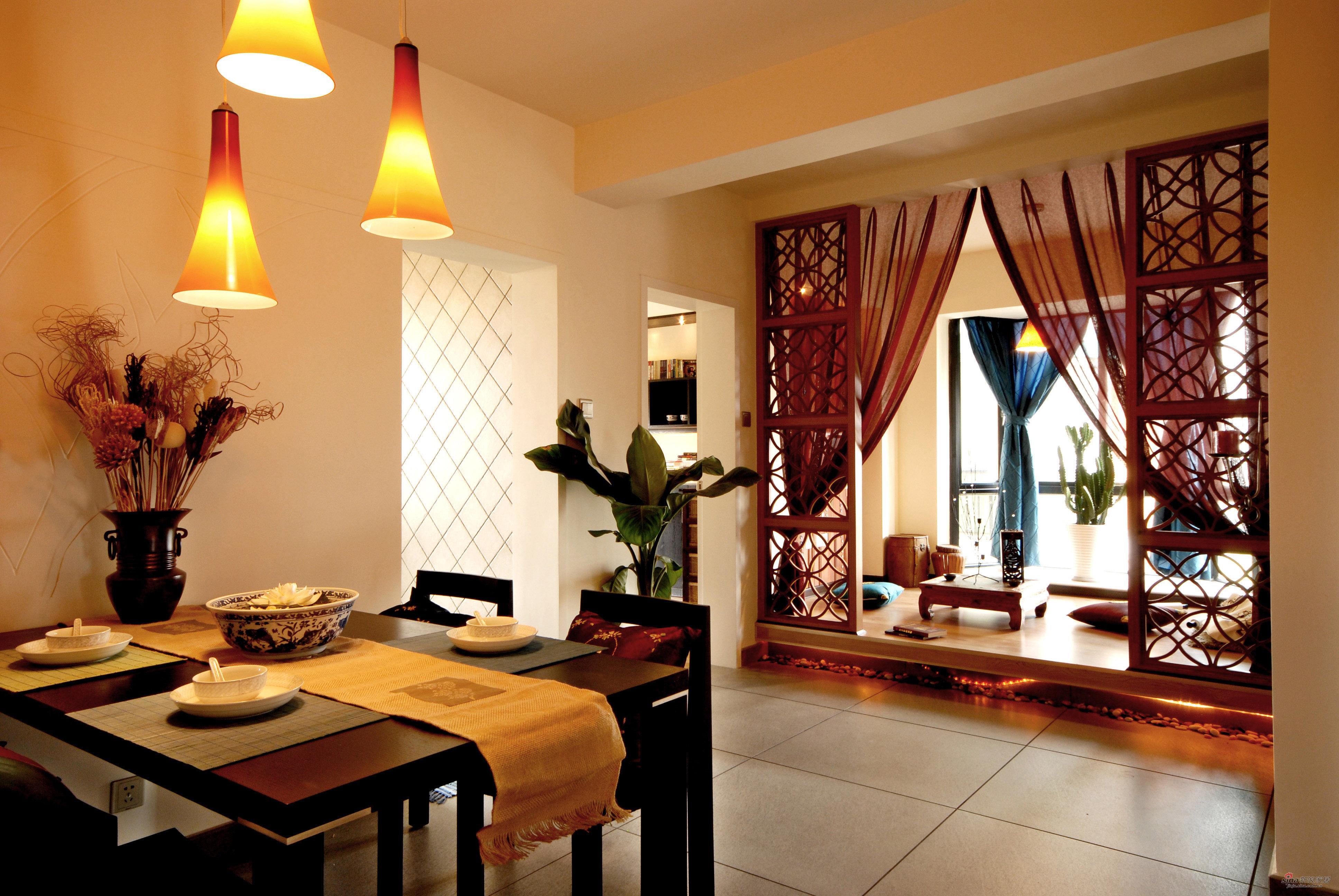 典雅餐厅和美丽品茶桌