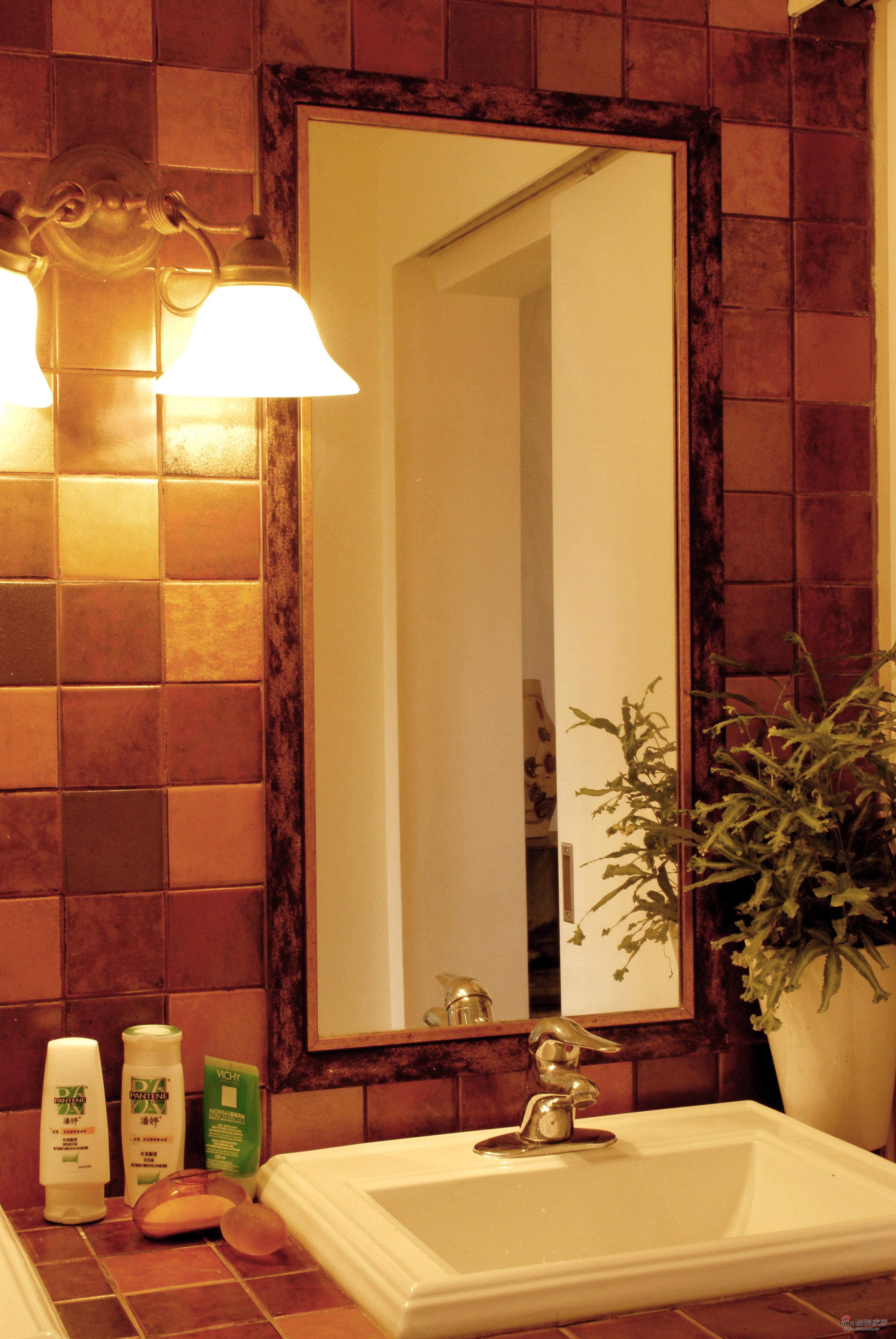 仿古砖和欧式灯