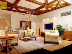 【高清】蓝岸丽舍600平米欧式混搭美式风格奢华大气独栋别墅
