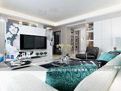 《浪花》--现代简约四房两厅130平米