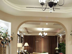 140平米古典风格,给您打造一个美家