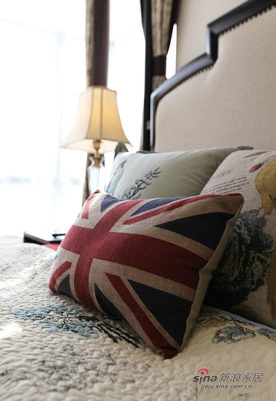 简洁英式床