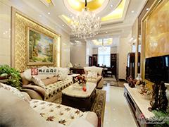 【高清】四室两厅跃层公寓雅致华丽欧式实景