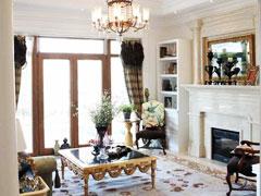 【多图】美式别墅-内敛的奢华
