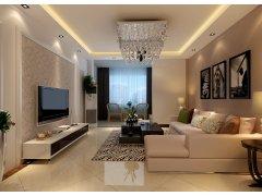 富强天合园121平/三居室/简约风格装修设计