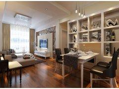 富强天合园113平/三居室简欧风格/低调的小奢华