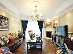 【多图】167平超大居室的混搭风格