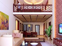 现代新中式loft设计