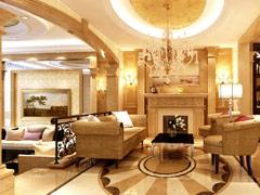 万通新新家园欧式风格别墅装修设计