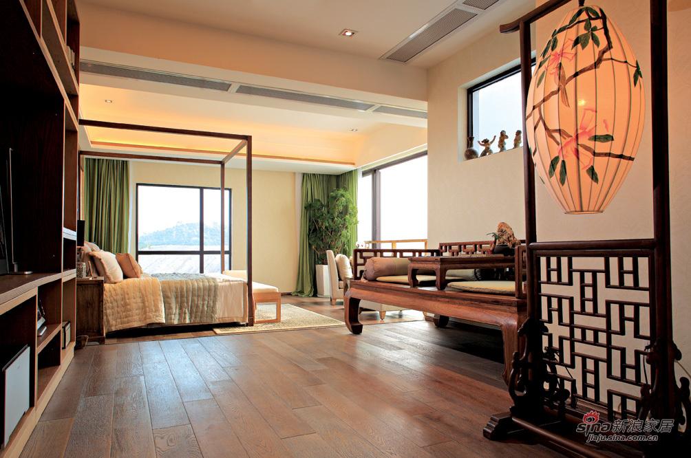 儒雅中式卧室