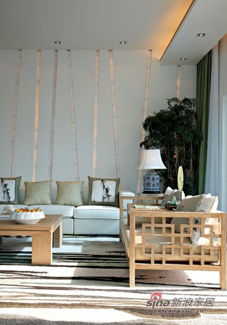 阳光竹子客厅