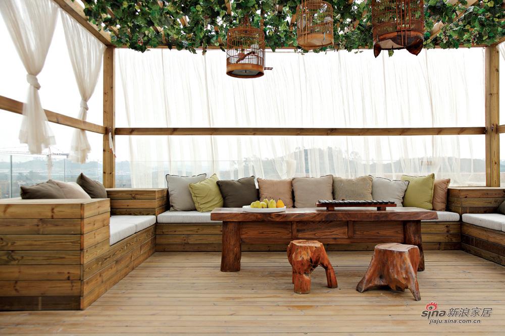 楼顶的休闲客厅