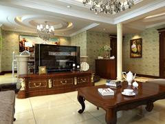 21万欧式古典大观舒适4居