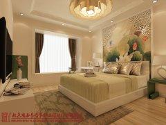 【思雨易居设计案例】《荷韵》140平米新中式风格装饰设计图