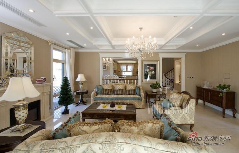 客厅装修实景图