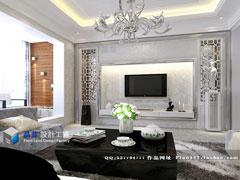【高清】《银装素裹》--现代中式复式楼五房两厅232平米